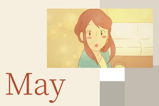 自主制作アニメ 「 May 」 | 制作: 詩織阿部