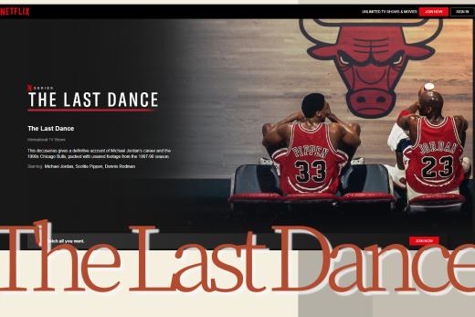 The Last Dance : Michael Jordan