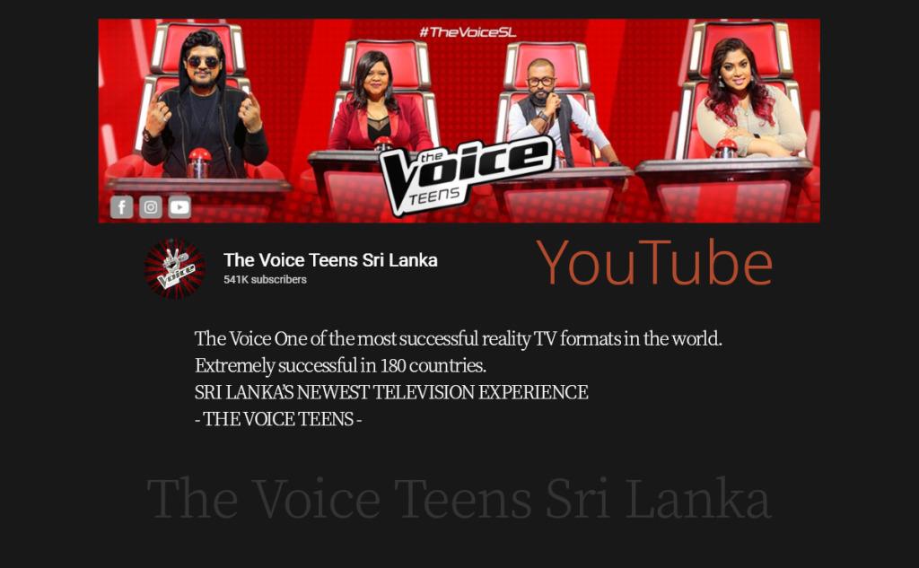 The Voice Teens Sri Lanka