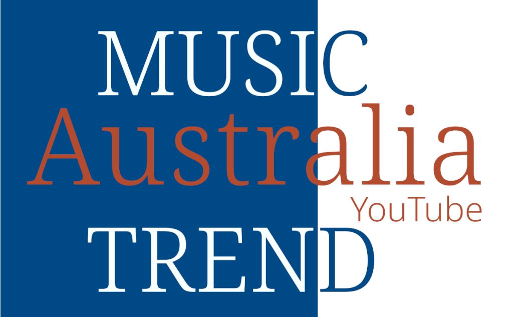 AU Australia Music Trend