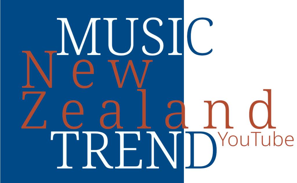 NZ New Zealand Music Trend