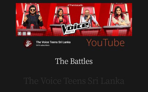 The Battles | The Voice Teens Sri Lanka
