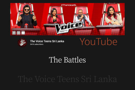 The Battles   The Voice Teens Sri Lanka