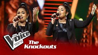 Lihini Minoda   Manaranjana Darshaneeya Lanka (මනරංජන)   Knockouts   The Voice Teens Sri Lanka