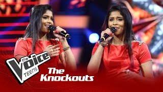 Chamathka Peiris   Tujh Mein Rab Dikhta Hai   Knockouts   The Voice Teens Sri Lanka